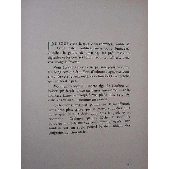 """Vintage Ltd. Ed. Hand Colored Image By Guy Arnoux""""Les Femmes De Ce Temps""""-La Froleuse (The Seductive Woman)""""-France-1920 - Image 4 of 7"""