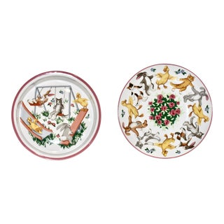 Child's Plate and Bowl Set by Tiffany & Co. For Sale