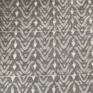 Galbraith & Paul Bellflower Cadet on Bartram Natural Linen Fabric - 8 Yards For Sale