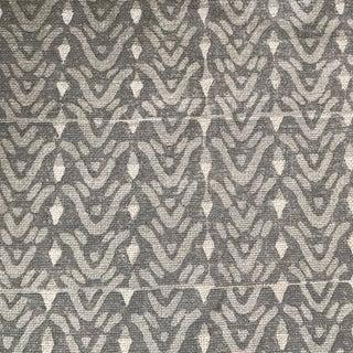Galbraith & Paul Bellflower Cadet on Bartram Natural Linen Fabric - 8 Yards For Sale