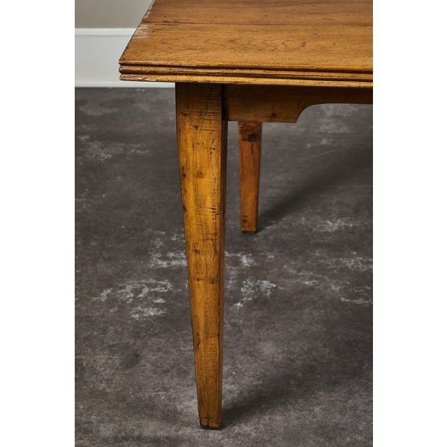 Brown 20th C. Indonesian Teak Farm Table For Sale - Image 8 of 9