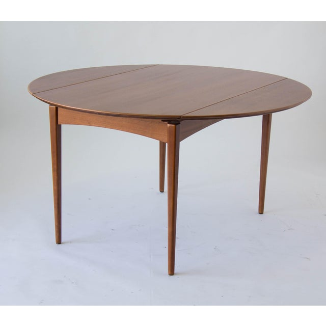 Drop-Leaf Dux Dining Table - Image 5 of 8