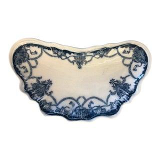 Antique Dartmouth Johnson Bros Scalloped Plate For Sale
