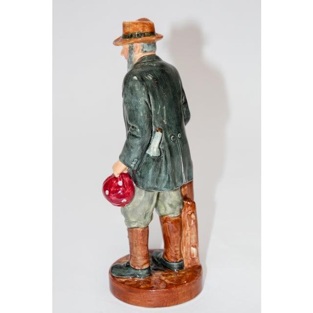 "1940s Royal Doulton ""The Gaffer"" British Porcelain Figurine For Sale - Image 5 of 9"