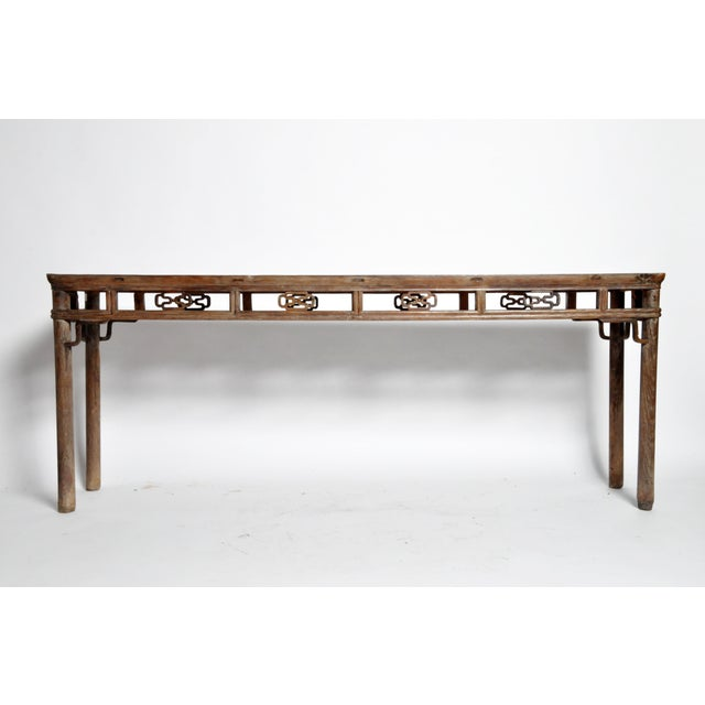 Qing Dynasty Altar Table with Rounded Legs and Original Lacquer - Image 3 of 11