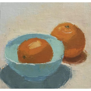 Oranges From Tennessee - Original Oil Painting by Caitlin Winner
