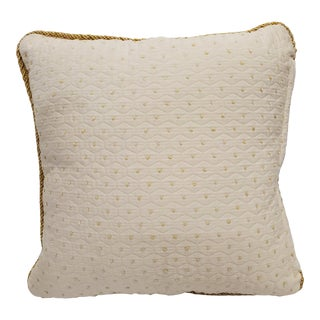 21st Century Yellow Throw Pillow For Sale