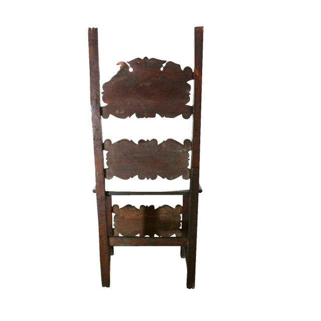 1400s Historic Furniture Chair - Image 6 of 8