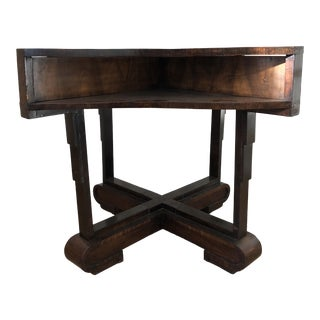 1940s Art Deco Style Center/Game Table For Sale