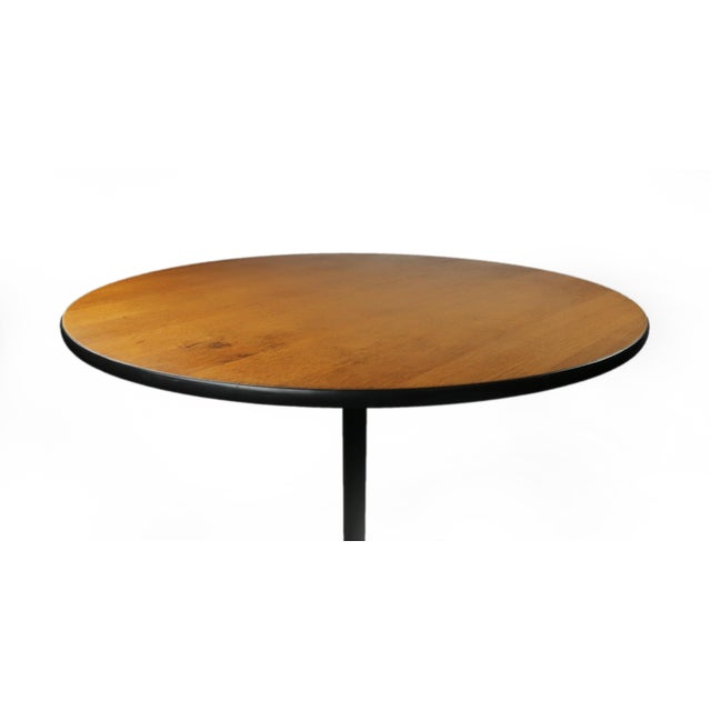 Eames wood aluminum group table for herman miller chairish for Table 6 2 ar 71 32