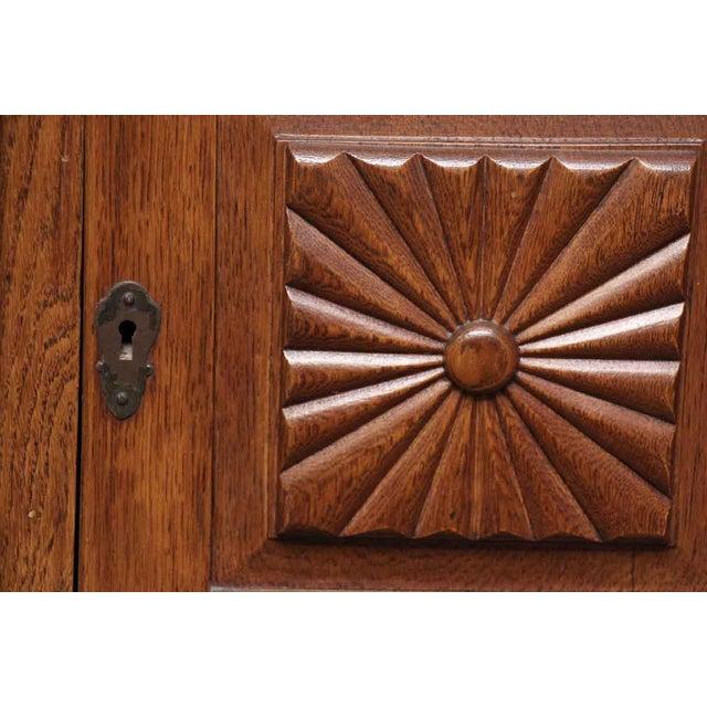 Carved Embellishment Oak Dresser - Image 3 of 10