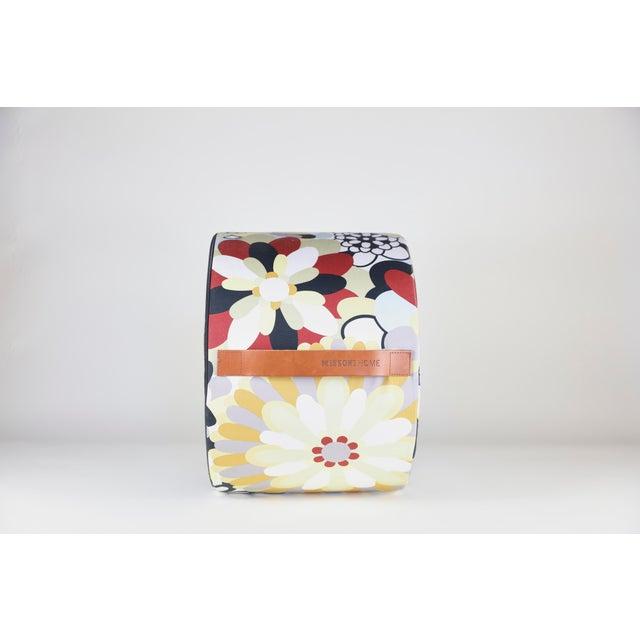 Contemporary Missoni Home Multicolored Pouf For Sale - Image 3 of 6