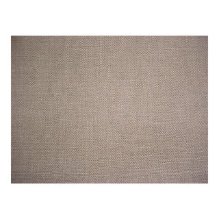 Andrew Martin Paraggi Wheat Barley Linen Weave Upholstery Fabric - 8 3/8 Yards For Sale
