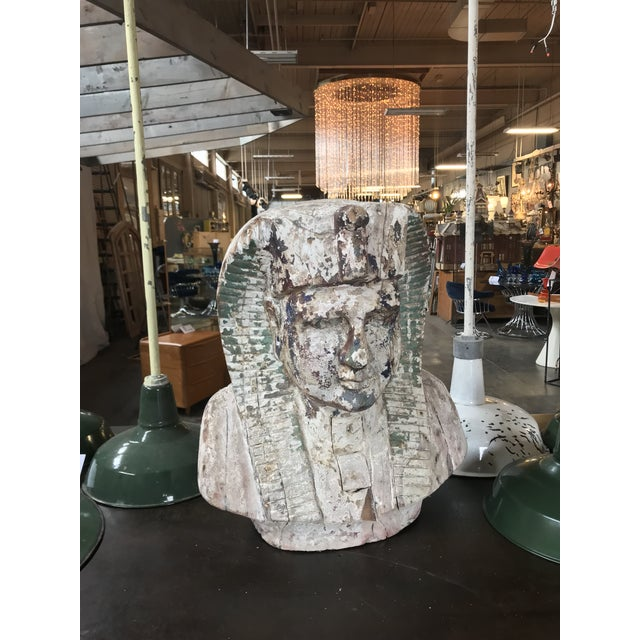 Pharaoh Sculpture For Sale In Seattle - Image 6 of 6