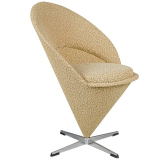 Verner Panton Cone Chair, Denmark, Circa 1960 For Sale
