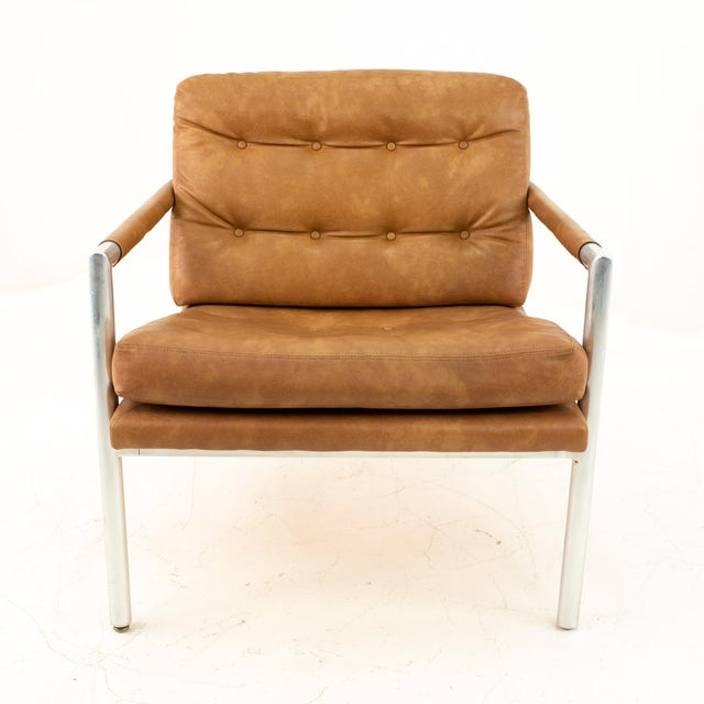 Jack Cartwright for Founders Mid Century Lounge Chairs - Pair For Sale In Chicago - Image 6 of 11