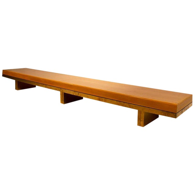 Architectural Bench From the Iconic i.m. Pei Dallas City Hall For Sale