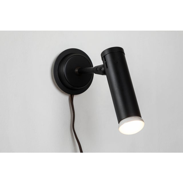 Black 1960s Jacques Biny 'Expolita 175' Sconces for Lita, France For Sale - Image 8 of 11