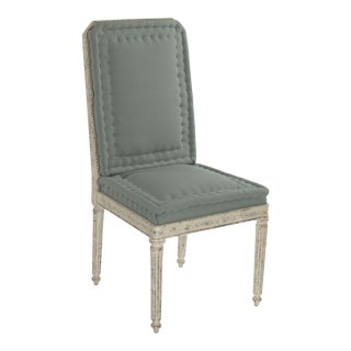 Esplanade Side Chair in Green For Sale