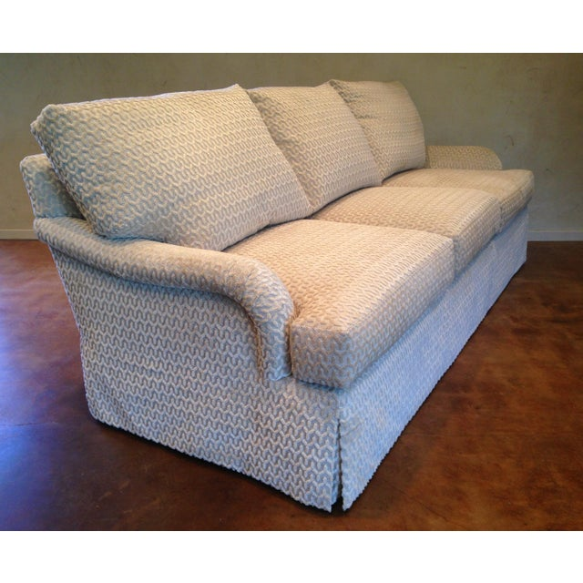 Relax in this most comfortable Martin Sofa with loose, boxed seat cushions with a down ticking wrapping a foam core. Back...