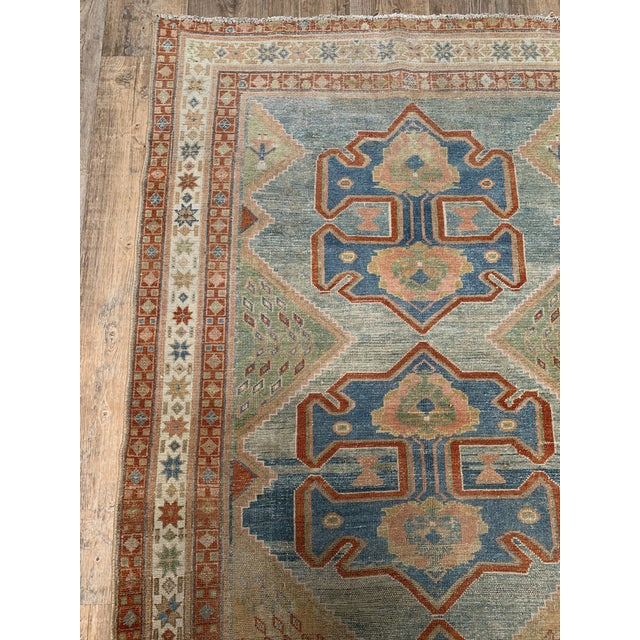 """Islamic Bellwether Rugs Antique Persian Malayer Rug - 4'1"""" X 6'2"""" For Sale - Image 3 of 4"""