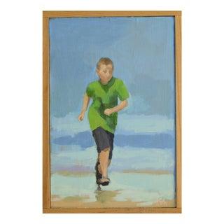 """""""Bliss"""" Seashore Painting"""