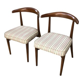 1950s Vintage Lawrence Peabody Chairs- A Pair For Sale