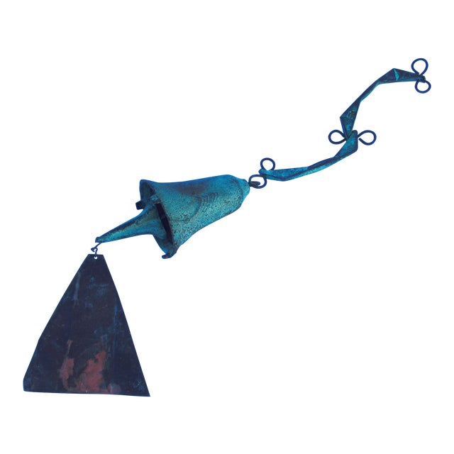 Paolo Soleri Modernist Bronze Wind Bell - Image 1 of 11