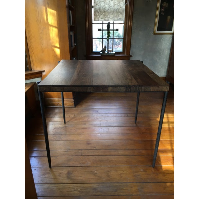 Iron Base Pub Table For Sale - Image 12 of 12