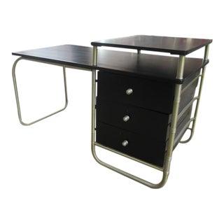 Warren McArthur 1930s Aluminum Reversible Desk