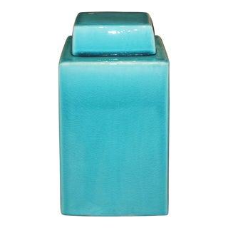 Turquoise Blue Jar