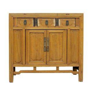 Sugi Buffet Cabinet For Sale