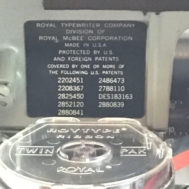 1960s Royal Typewriter Magic Margin - Image 5 of 11