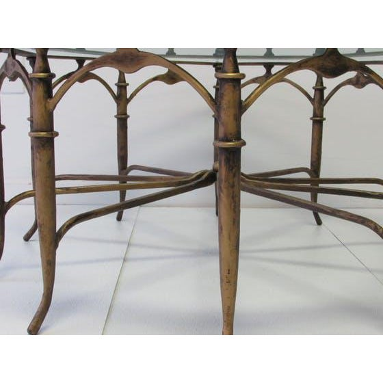 Italian Carlo Di Carli Style Spider Leg Coffee Table - Image 4 of 5