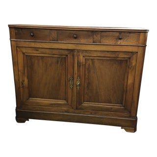 Louis Philippe Walnut Buffet Bas