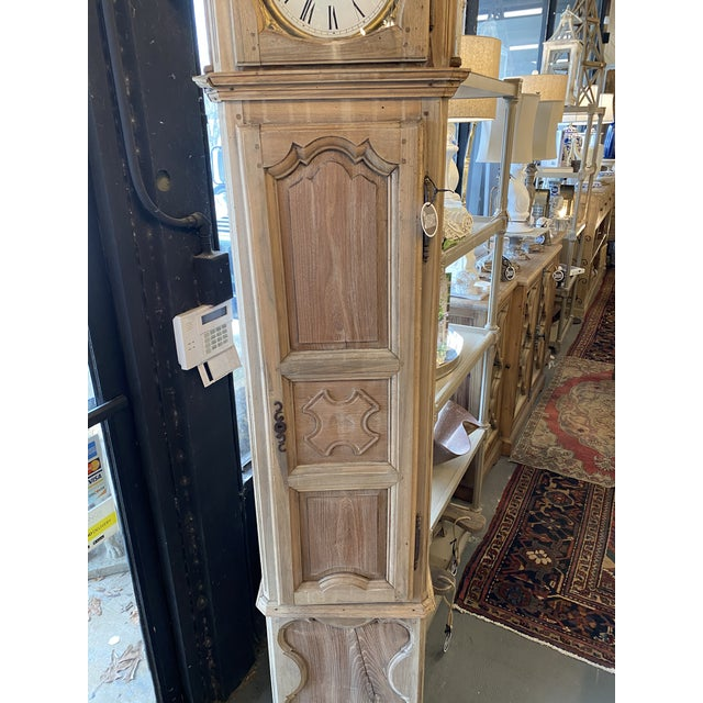 French Provincial 1830 French Provincial Grandfather Clock For Sale - Image 3 of 8