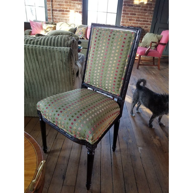 Modern 1980s Lewis Mittman Side Chair For Sale - Image 3 of 12