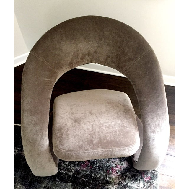1970's Maison Rougier Lounge Chair - Image 4 of 4