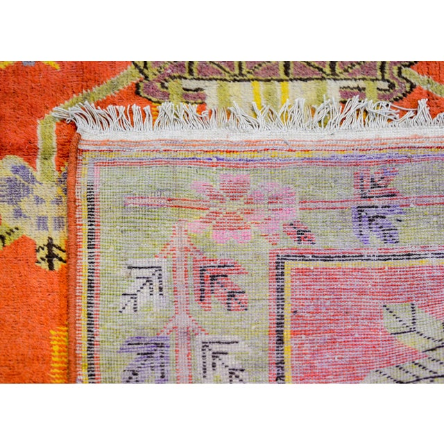 Textile Wonderful Early 20th Century Samarkand Rug For Sale - Image 7 of 8
