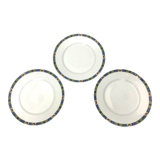 Butterfly Limoges Plates - Set of 3 For Sale