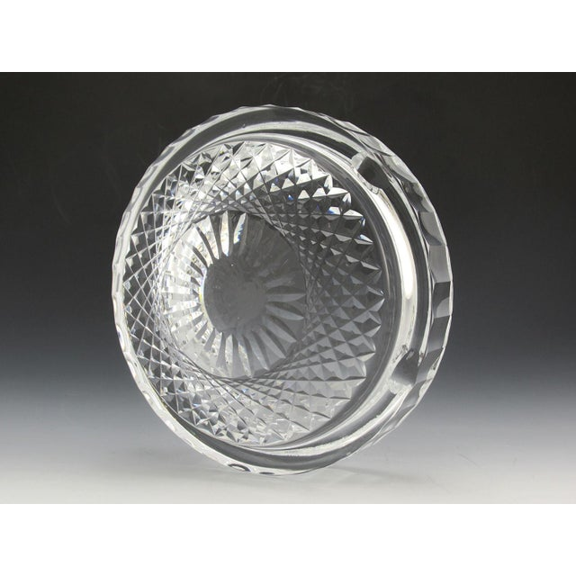 Waterford crystal ashtray, over 5 pounds of solid high-quality crystal. Sparkles and shines like the day it was made. High...