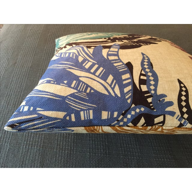 Missoni Home Designer Mezewele Throw Pillow For Sale - Image 5 of 11