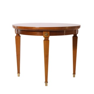 Small French Merisier Side Table, C. 1940 For Sale
