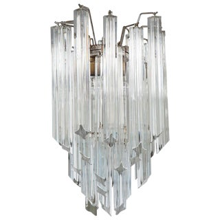 Petite Crystal Chandelier by Camer For Sale