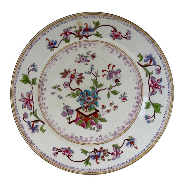Antique Chinese Plates - a Pair For Sale - Image 4 of 7