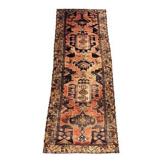 """Vintage Persian Wool Runner Rug - 3'3""""x9'4"""""""