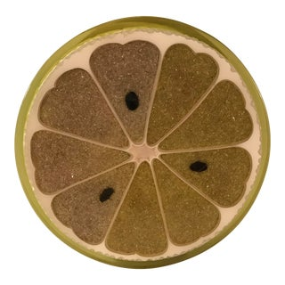 20th Century Country Melon Trivet For Sale