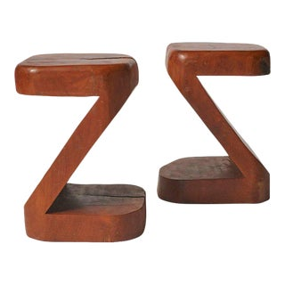 Pair of Side Tables by Jose Zanine Caldas