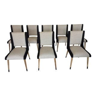 Noir Furniture Lino Dining Chairs - Set of 8