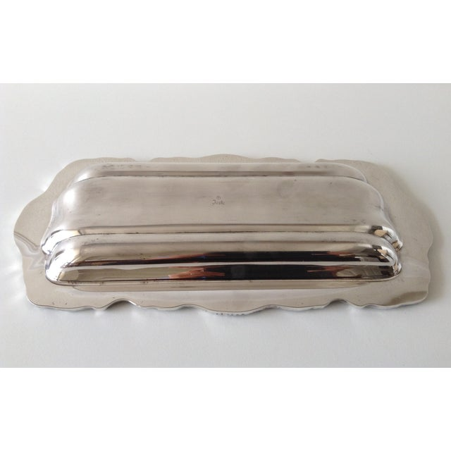 Silver Georgian Style Towle Serving Tray For Sale - Image 8 of 9